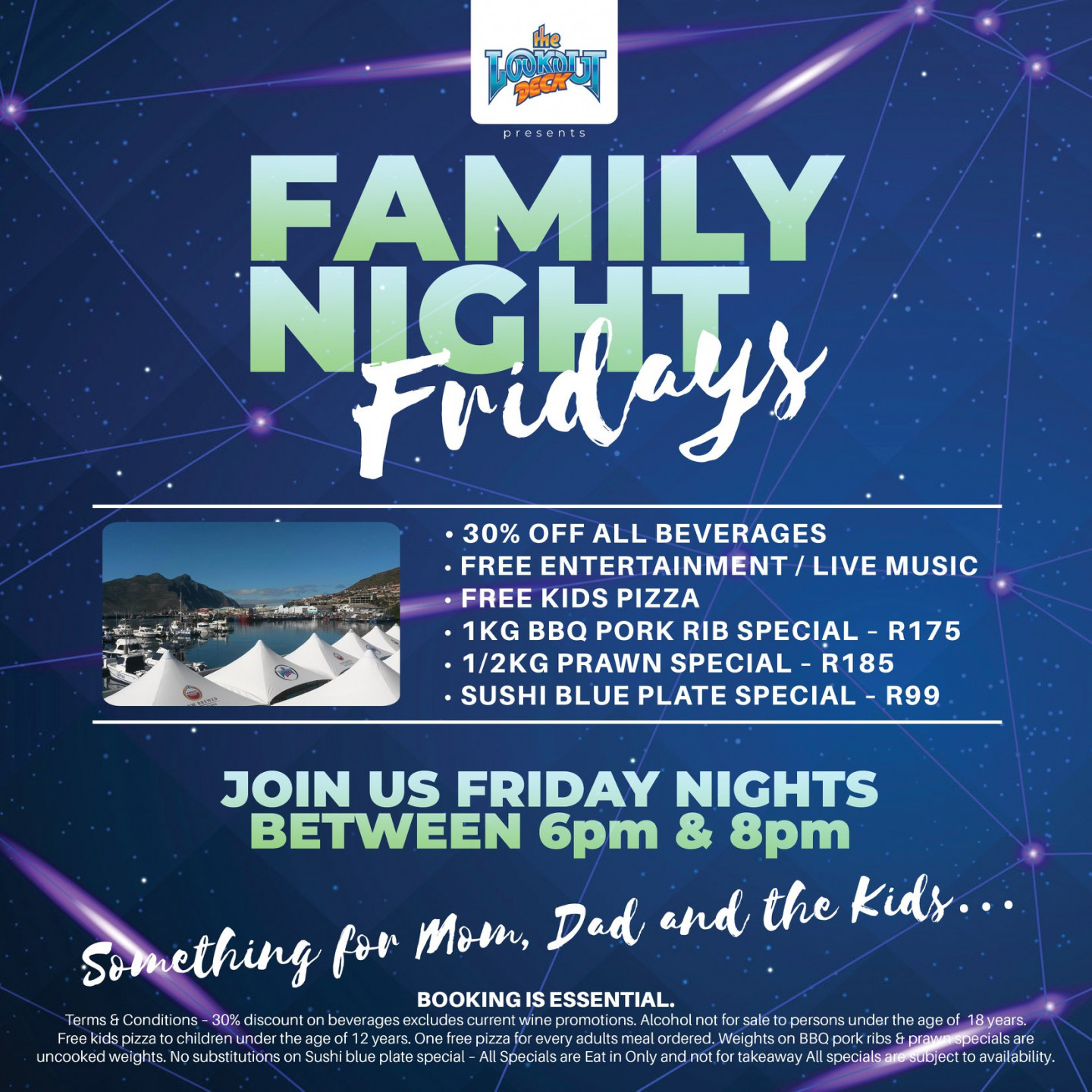 Lookout Deck Family Night Fridays